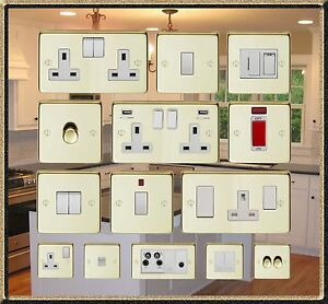 POLISHED-BRASS-USB-DOUBLE-SOCKETS-STANDARD-OR-LED-DIMMER-LIGHT-SWITCHES-ETC