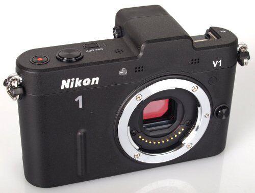 Nikon Miralles Single-Lens Camera Nikon 1 V1 Body Black
