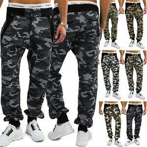Pantalon-jogging-Hommes-avec-la-formation-de-camouflage-jogger-pantalon