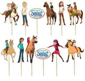 SPIRIT-RIDING-FREE-HORSE-CUPCAKE-CAKE-TOPPER-party-balloon-decoration-supplies