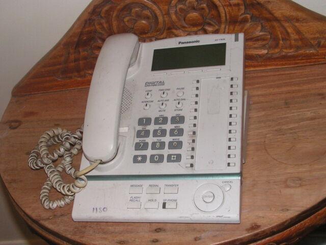 Panasonic KX-T7636 Display Telephone KX-T7636AL - White