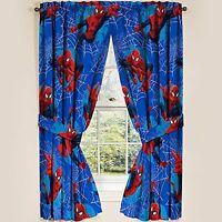 Marvel Ultimate Spiderman Spider-man Panels Drapes Curtains, Set Of 2, 42 X 63 on sale
