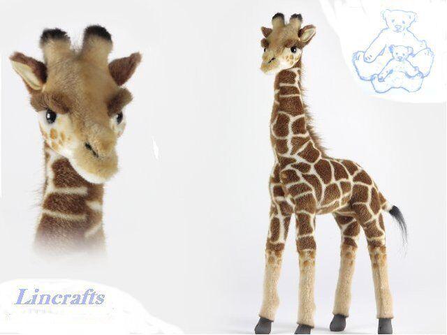Hansa Giraffe Standing 3429 Plush Soft Toy Sold by Lincrafts Established 1993