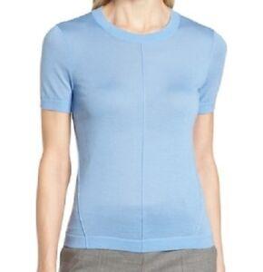 Hugo-Boss-Fuyuka-Wool-Sweater-Blue-Size-XS-New-w-defect-repaired