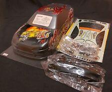 MATRIXLINE RC 1/10 EP Car 190mm Part Painted RED Bodyshell Bodies NISSAN S15 UK