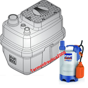 Storage-Lifting-Station-100L-Dirty-Waste-Water-SAR100TOP2-VORTEX-0-5-Pedrollo