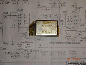 TCXO-10-0-Mhz-Typ-2-Narva-auf-Leiterplatte-geprueft-RFT-FWB