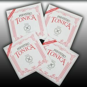 Pirastro-Tonica-4-4-1-32-Violino-Violino-Violon-Violino-Saten-Set-Strings-Set