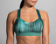 thumbnail 1 - Brooks-Hot-Shot-Moving-Comfort-Teal-Forest-Women-039-s-Sports-Bra-Size-XS-1805