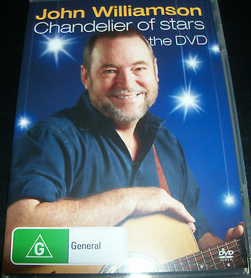 John Williamson Chandelier Of Stars (All Region) DVD
