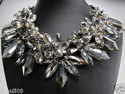 New Design Lady  twinkle Statement Paris fashion show necklace collar HOT 230G