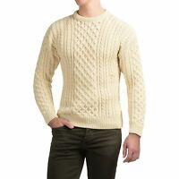 $190 Peregrine J.g Glover English 100% Merino Wool Stylish Mens Sweater