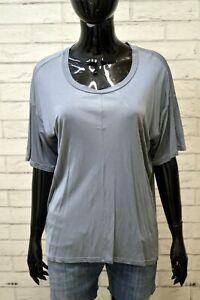 LACOSTE-Donna-Maglia-Taglia-34-Polo-Manica-Corta-Shirt-Women-Blusa-Grigio-Lucido