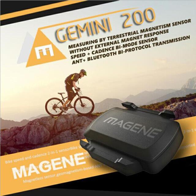 Magene Cadence Bluetooth Compatible Bike Speedometer Speed Sensor Computer Ant i