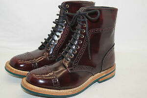 BARBOUR-Damen-Stiefelette-Boots-Lackleder-Gr-39-5-UK6