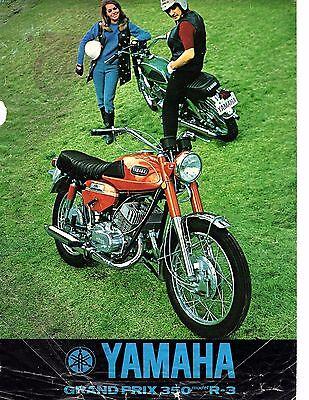 Reprint $7.50 1969 American Eagle 350 Marauder motorcycle sales brochure