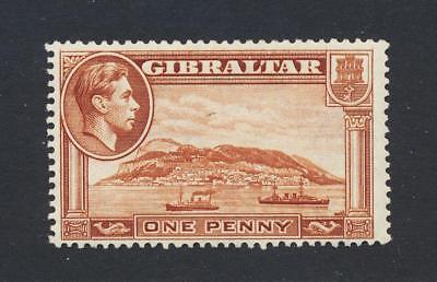 Siehe Unten Gibraltar 1938 1d Perf 13 ½ Wmk Up HöChste Bequemlichkeit Vf Lh Og Sg #122a Cat £28