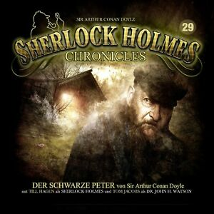 SIR-ARTHUR-CONAN-DOYLE-SHERLOCK-HOLMES-CHRONICLES-29-DER-SCHWARZE-PETER-CD-NEW