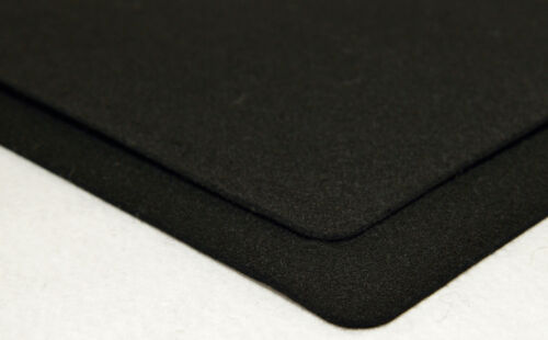 "Black F1 Wool Felt, 18"" Thick X 60"" Wide Per Linear Yard"