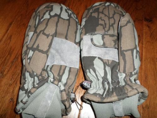 treebark winter insulated mittens thinsulate hollofil
