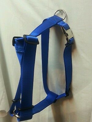 1.5 Dog Harness Metal Side Release Buckle Usa Made Bulldog Strong Size Xx