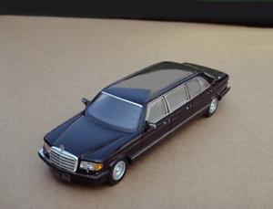 1   43 Mercedes - Benz w126 w126 w126 serie 500sel 6 Limusinas 1985 (azul) 5ec
