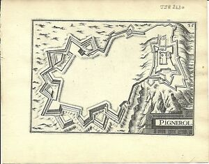 Antique-map-Pignerol-Pinerolo