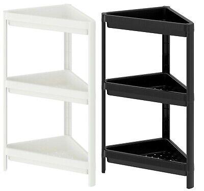 3 X Ikea Eckregal 33x33x71cm Badezimmer Regal Standregal Badregal Kuchenregal Ebay