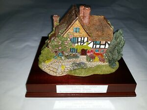 Lovely Lilliput Lane Cottage Oak Lodge Boxed Employee Award Year 2000
