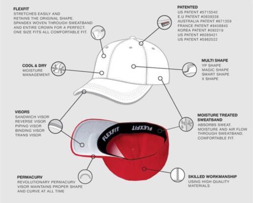 MACK BULLDOG TRUCK FLEXFIT CAP Black