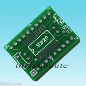 SOP-20-SOP20-to-DIP-20-Pin-Adapter-PCB-SMD-Convert