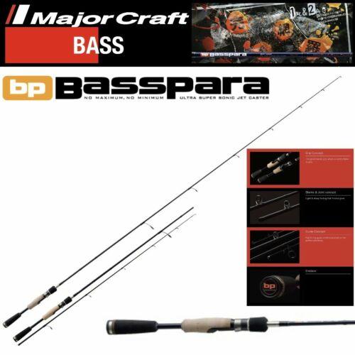 MAJOR CRAFT BASS FISHING SPINNING ROD BASSPARA