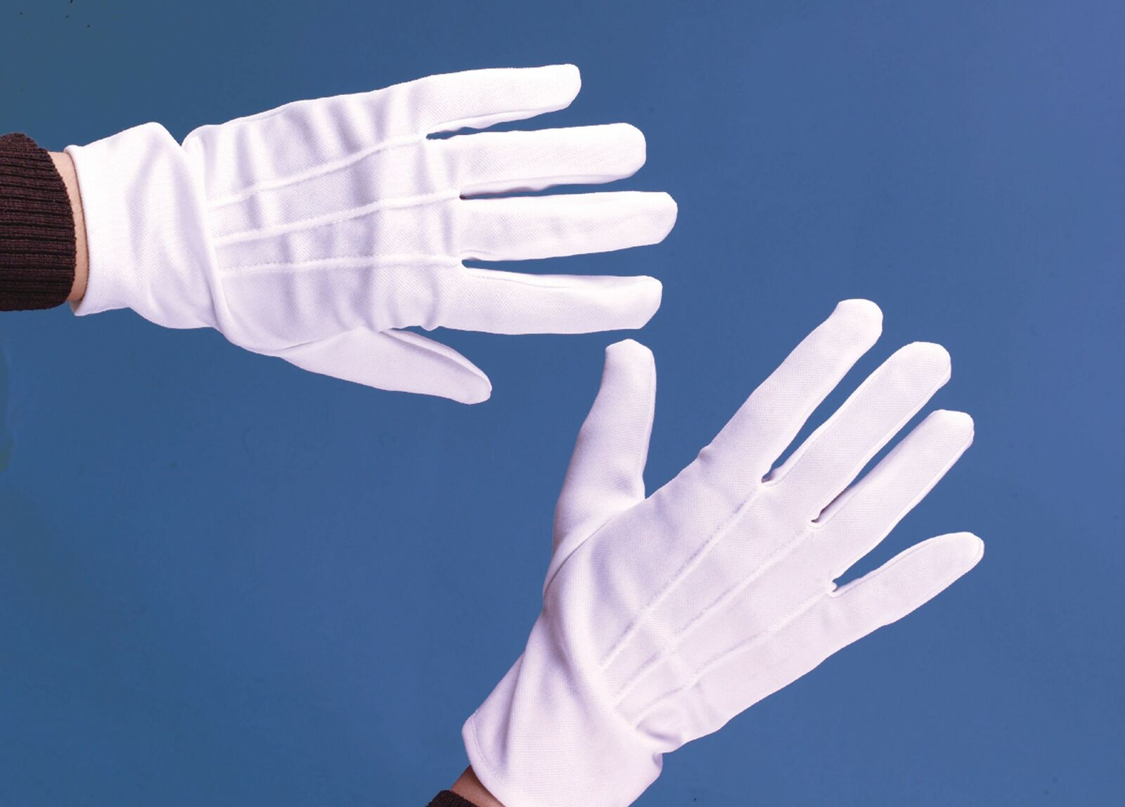 White Clown Theatrical Child Gloves