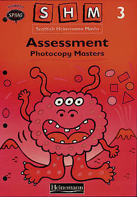 Scottish Heinemann Maths 3: Assessment PCMs by , NEW Book, FREE & FAST Delivery,