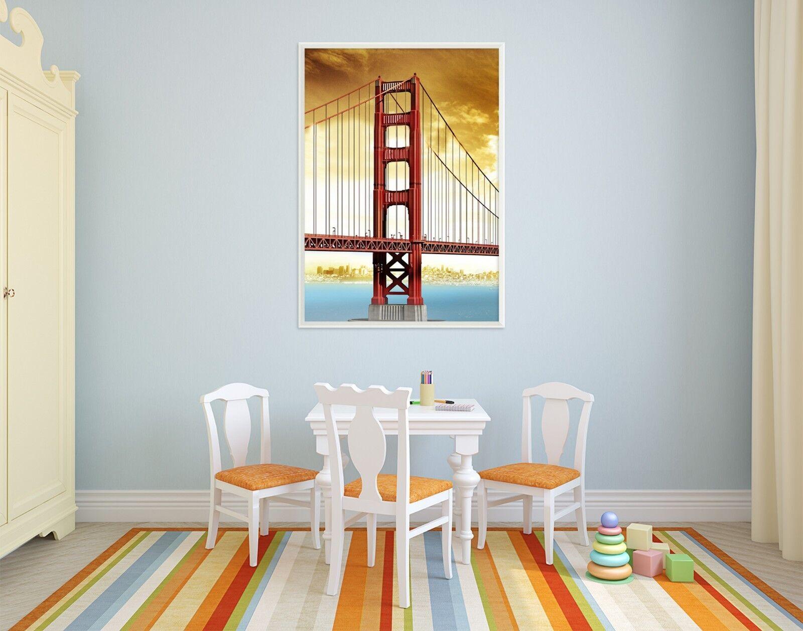 3D Nostalgic Bridge 3 Framed Poster Home Decor Print Painting Art AJ WALLPAPER