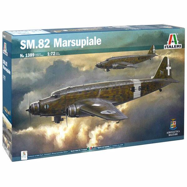 ITALERI SM-82 Marsupiale 1389 1 72 Aircraft Model Kit