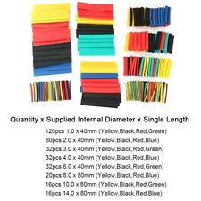 New Listing328 Pcs Heat Shrink Kit Tubes Wire Cable Insulation Colorful Sleeve Protection