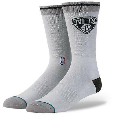 Black//White//Blue Stance NBA Men/'s Brooklyn Nets Jersey 2 Logo Socks