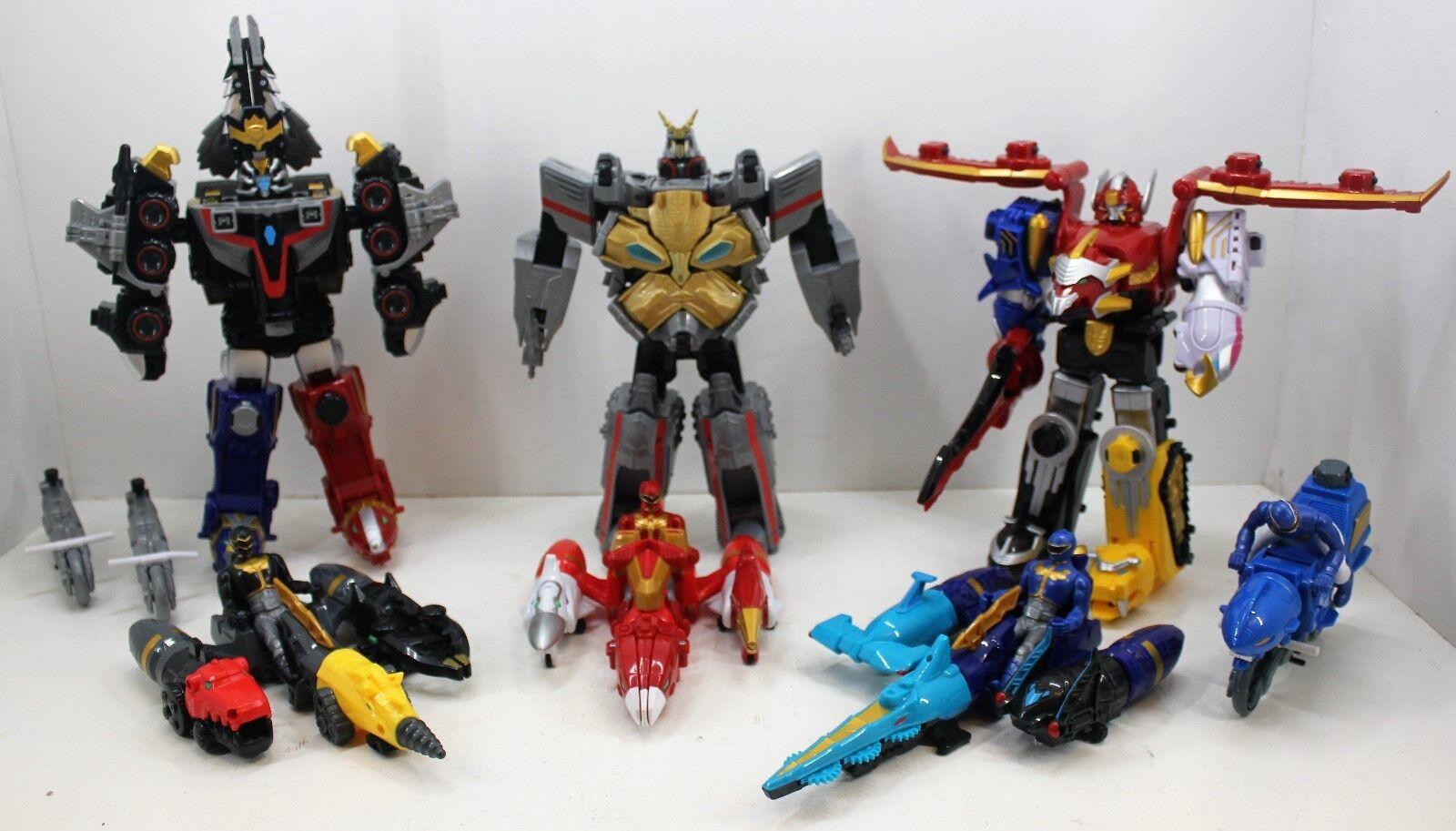 Power Rangers Megaforce-Gosei Great, sol & Ultimate megazords