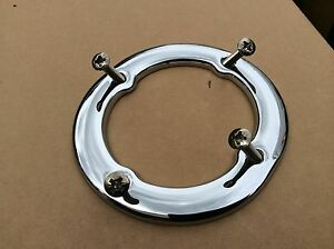 Mgb , Mgb Gt Chrome Gear lever Ring Inc Screws Fits Cars 1972-1980 BBD8-B5-A