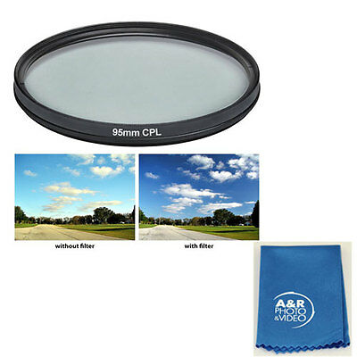 95mm Pro series Multi-Coated Hi Resolution Polarized Filter Tamron SP 150-600mm