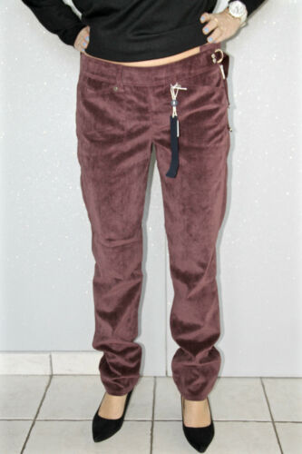 Val Neuf 340€ Velours Pantalon High 38 Use Bordeaux 42 Étiquette 36 Ras i T TZndZ74W
