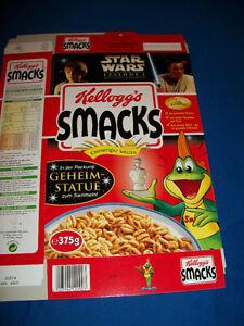 STAR WARS FROOT LOOPS Cereal Box w//STATUE PROMO Kelloggs GERMAN ANAKIN Obi Wan