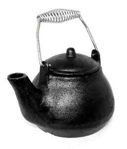 Cast Iron Humidifier Kettle Fireplace Kettle Hearth Tea Pot Cast ...