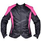 Women Ladies Motorcycle Textile Jacket Biker Rider Waterproof CE Protection