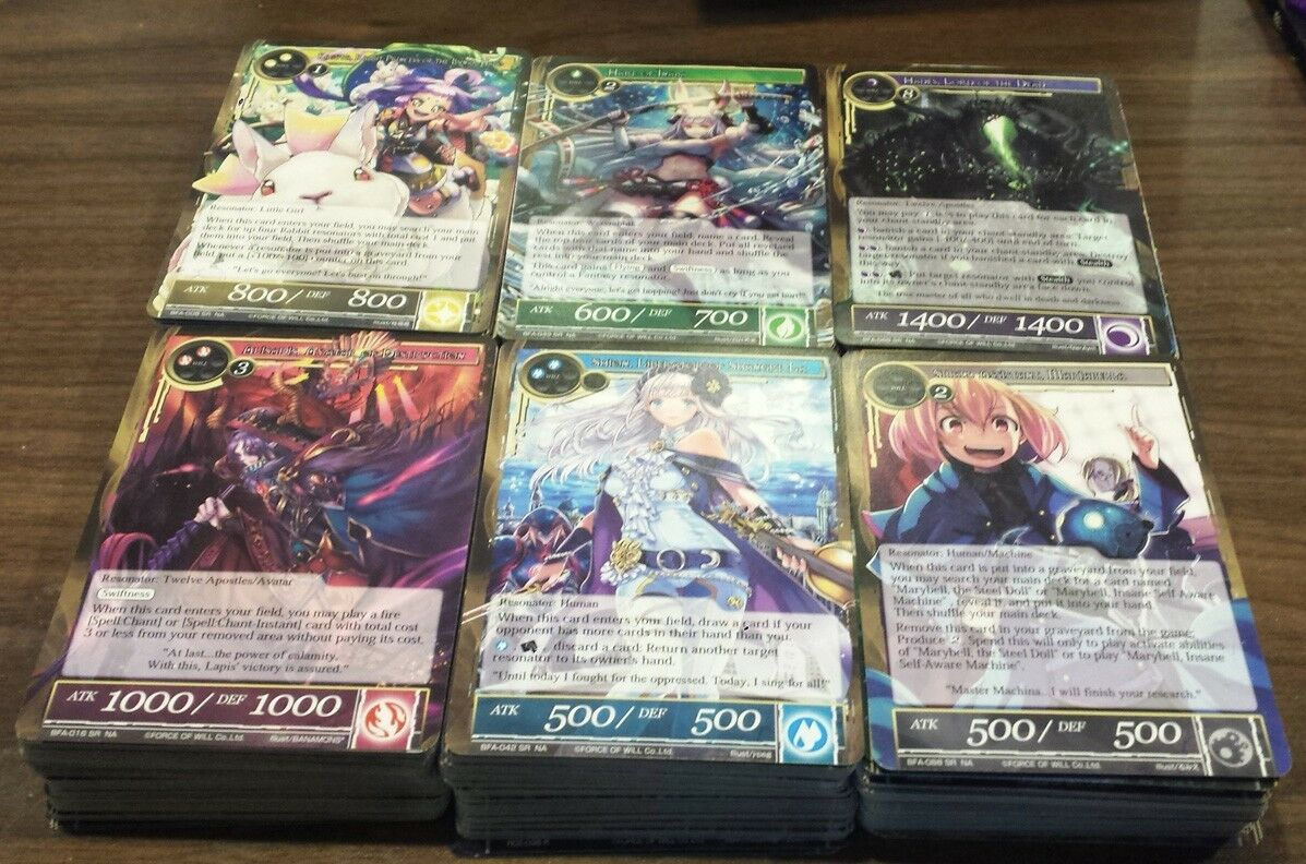 Force of Will - Battle For Attoractia - Full Playset  - No Stones Rulers