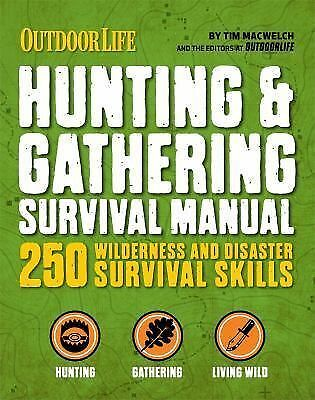 ULTIMATE SURVIVAL FOOD & FORAGING MANUAL (9781616 - TIM MACWELCH (PAPERBACK) NEW