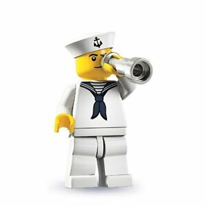 NEW-LEGO-Series-4-Collectible-Minifigure-Navy-Sailor-face-may-vary-minifig