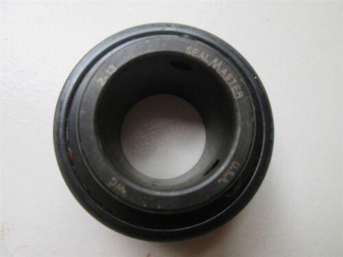 "Sealmaster Ball Insert Bearing 2-13 1-3//16/""  Bore Setscrew"