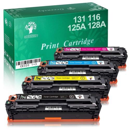 Set of 4 PK CRG131 131 Toner Cartridges For Canon imageCLASS MF8230CN LBP-7100CN